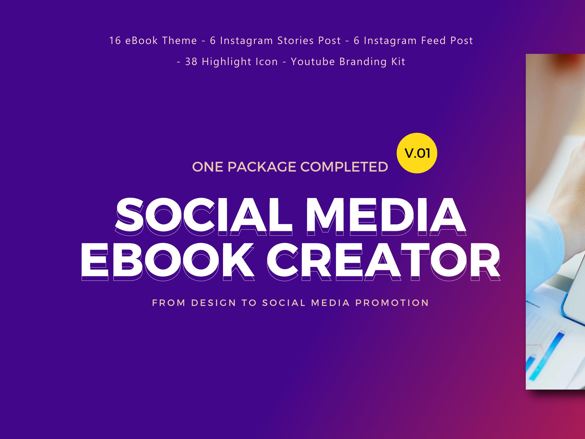 Social Media Marketing eBook Creator Template By rivatxfz ...