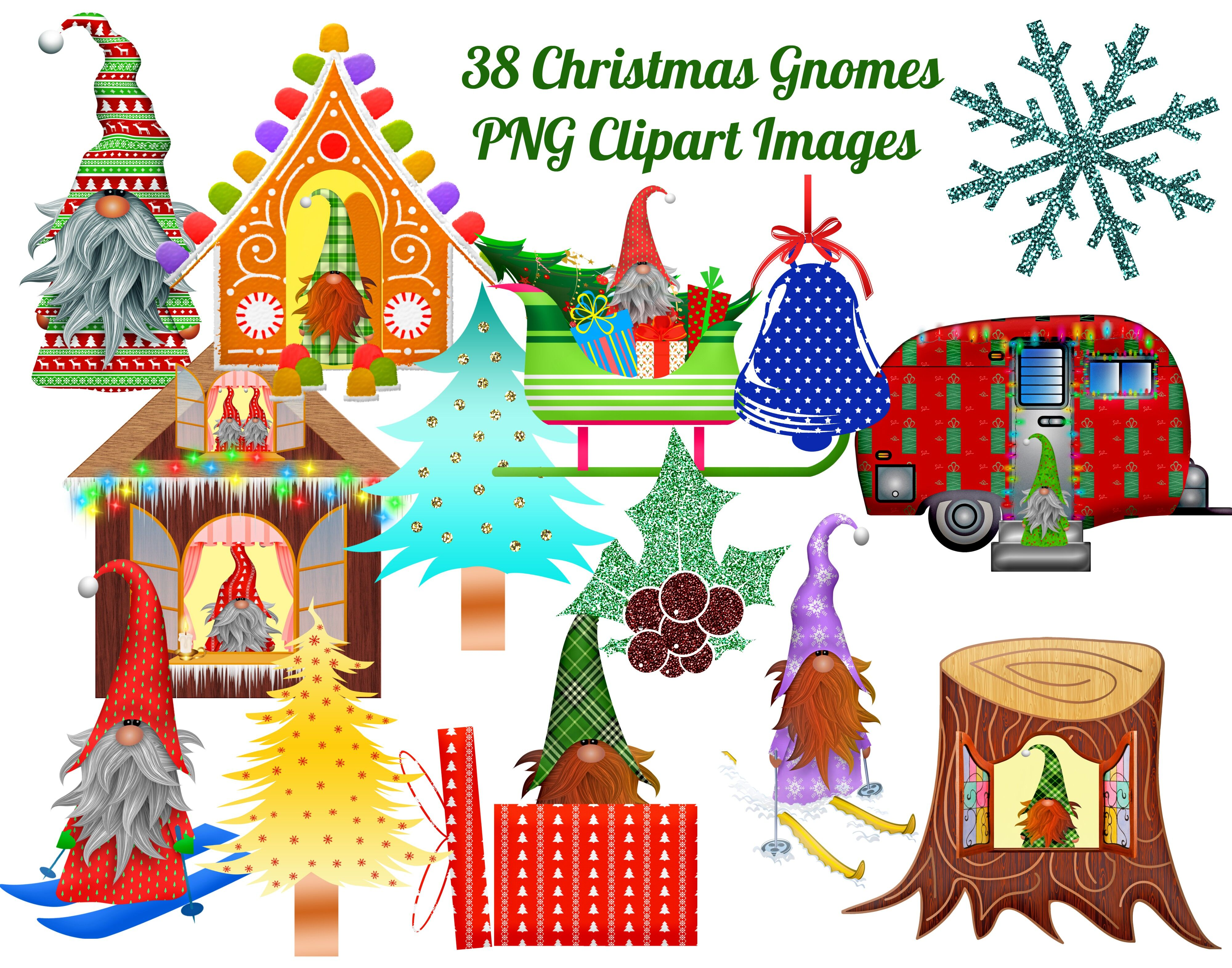 38 Christmas Gnomes Clip Art Images Png Images By Scrapbook Attic