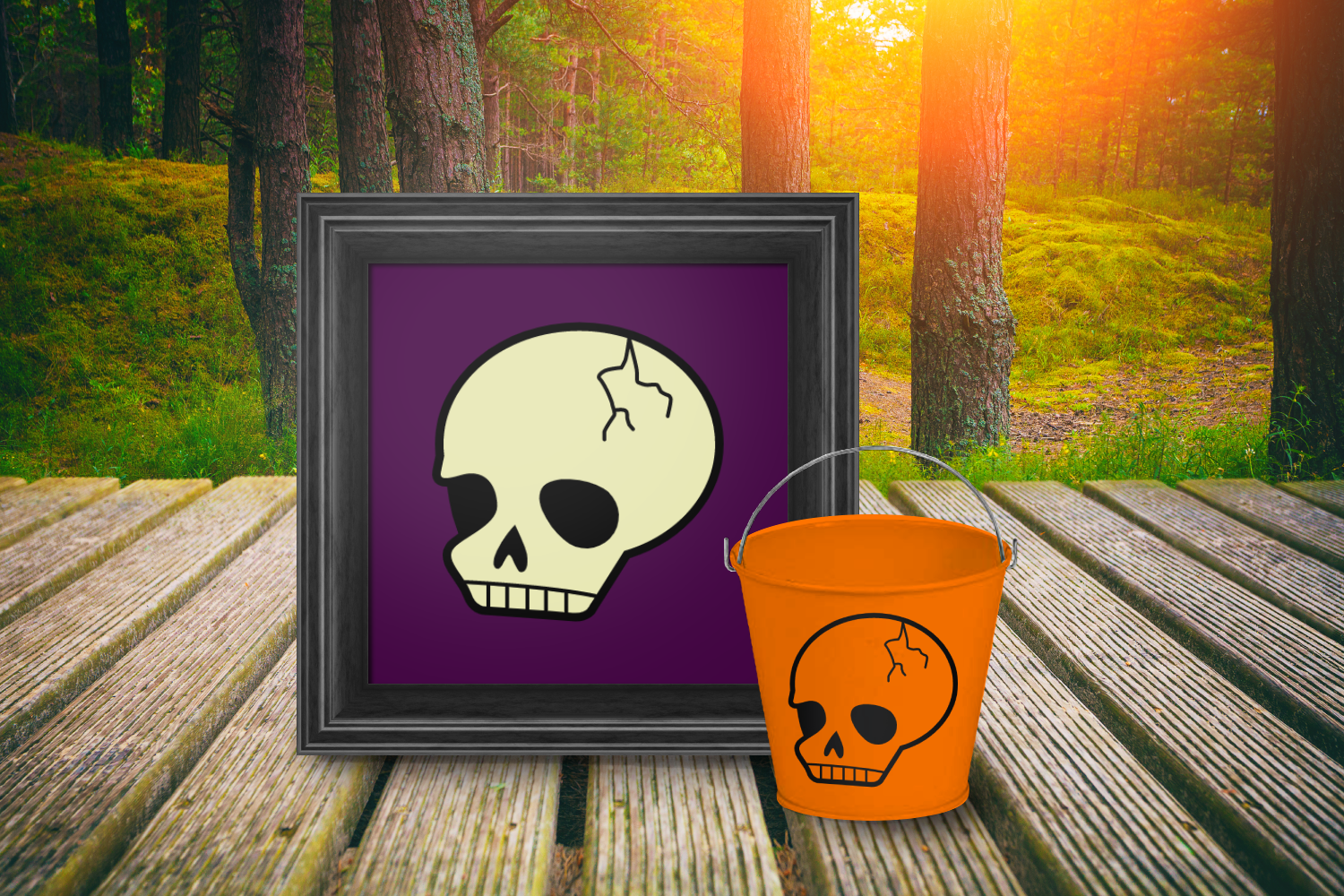 Spooky Cute Halloween Skull Svg Png Dxf By Designed By Geeks