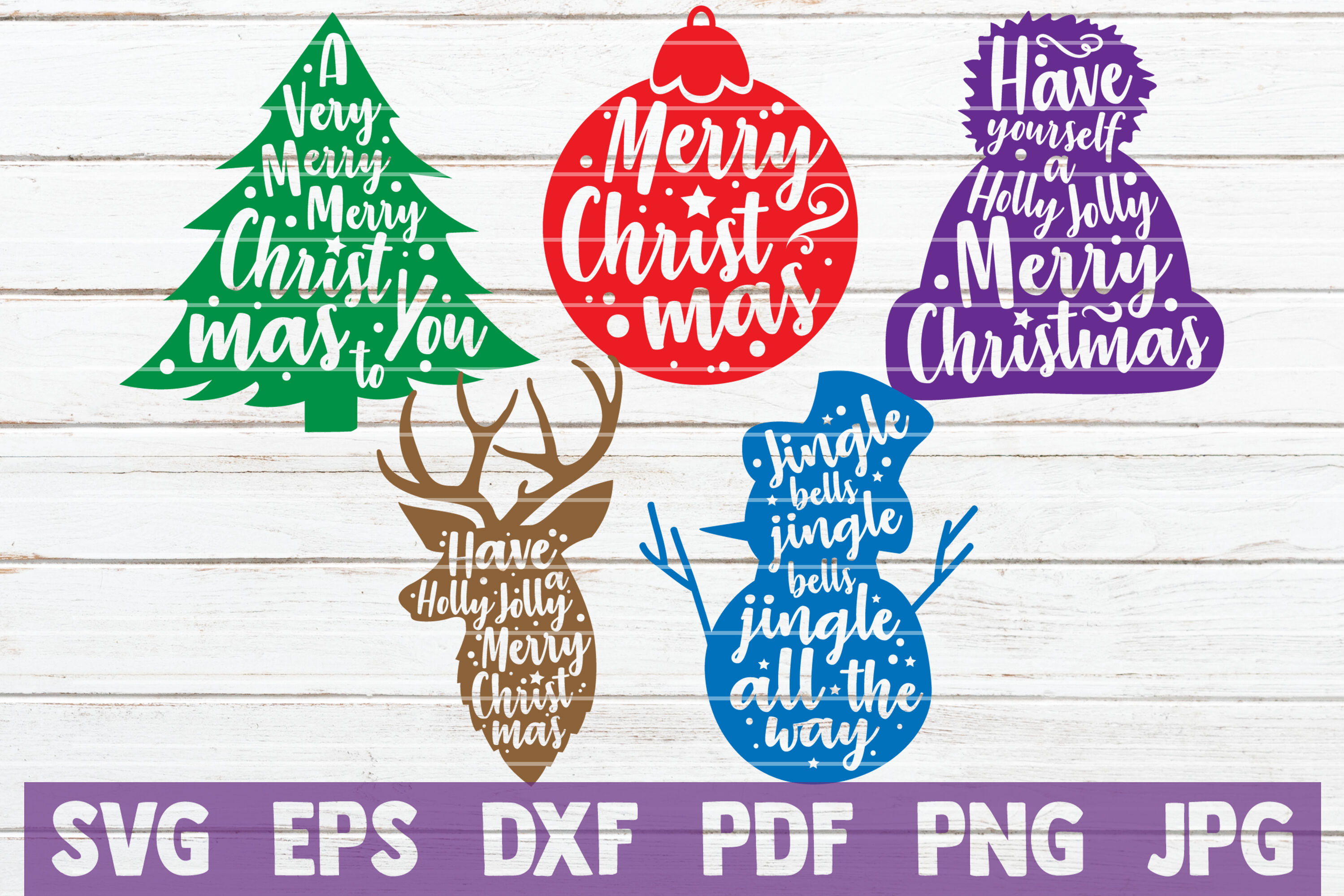 Huge Christmas Bundle Svg Cut File By Mintymarshmallows