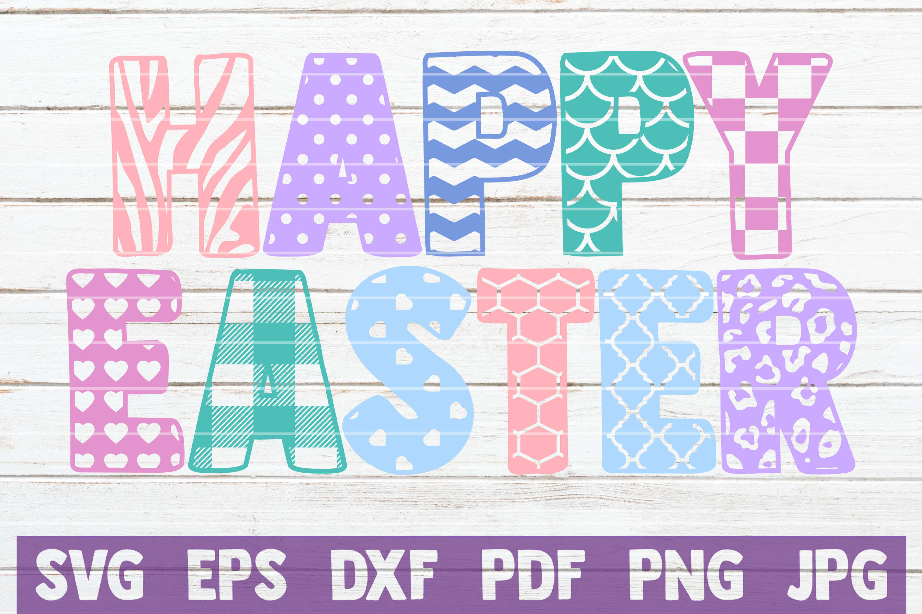 Happy Easter Svg Cut File By Mintymarshmallows Thehungryjpeg Com