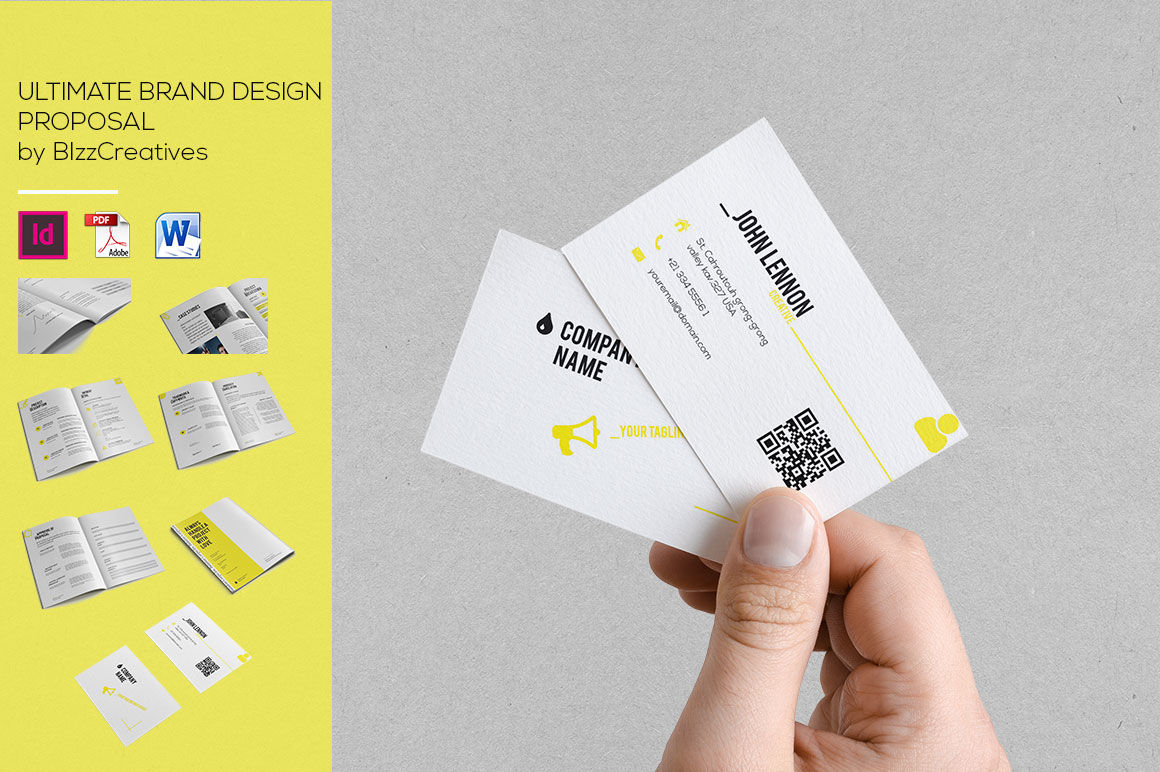 Ultimate Brand Design Proposal By Bizzcreatives