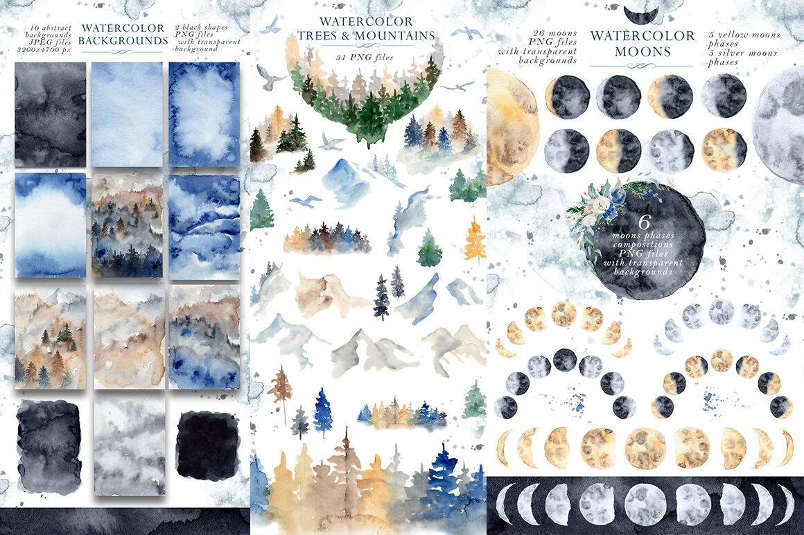 Woodland Story Vol 1 Wolf By Evgeniiasart Thehungryjpeg Com