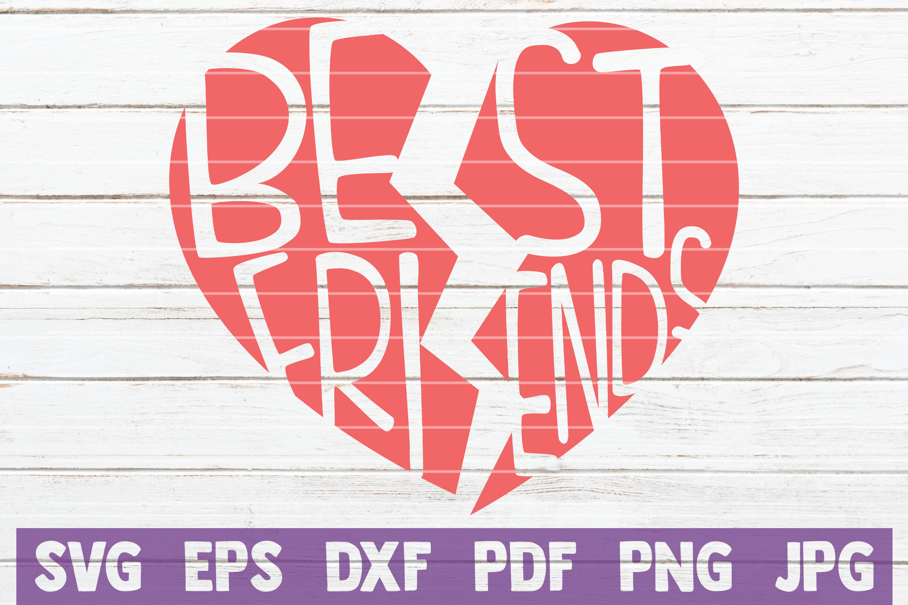 Best Friends Svg Cut File By Mintymarshmallows Thehungryjpeg Com