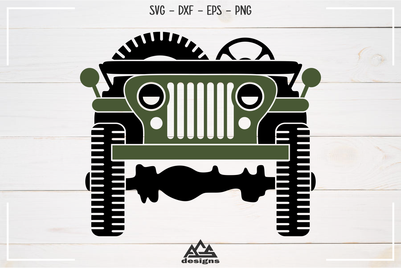Army Military Vehicle Truck Svg Design By Agsdesign