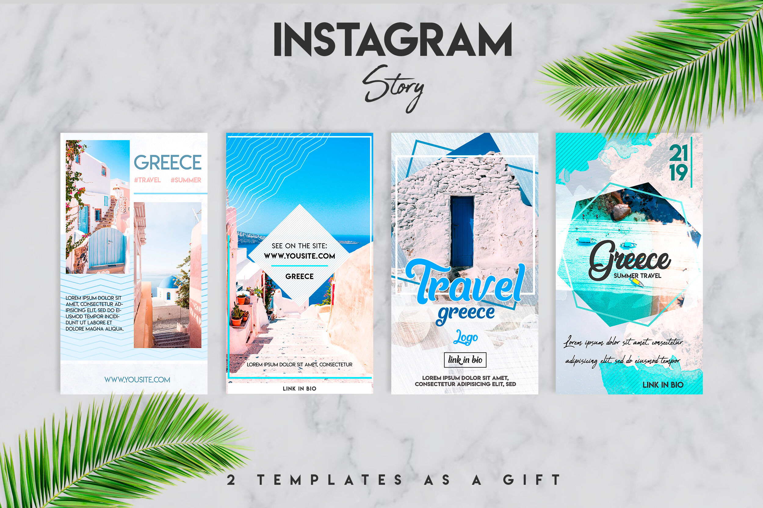 Social Media Instagram Travel Template By Design360