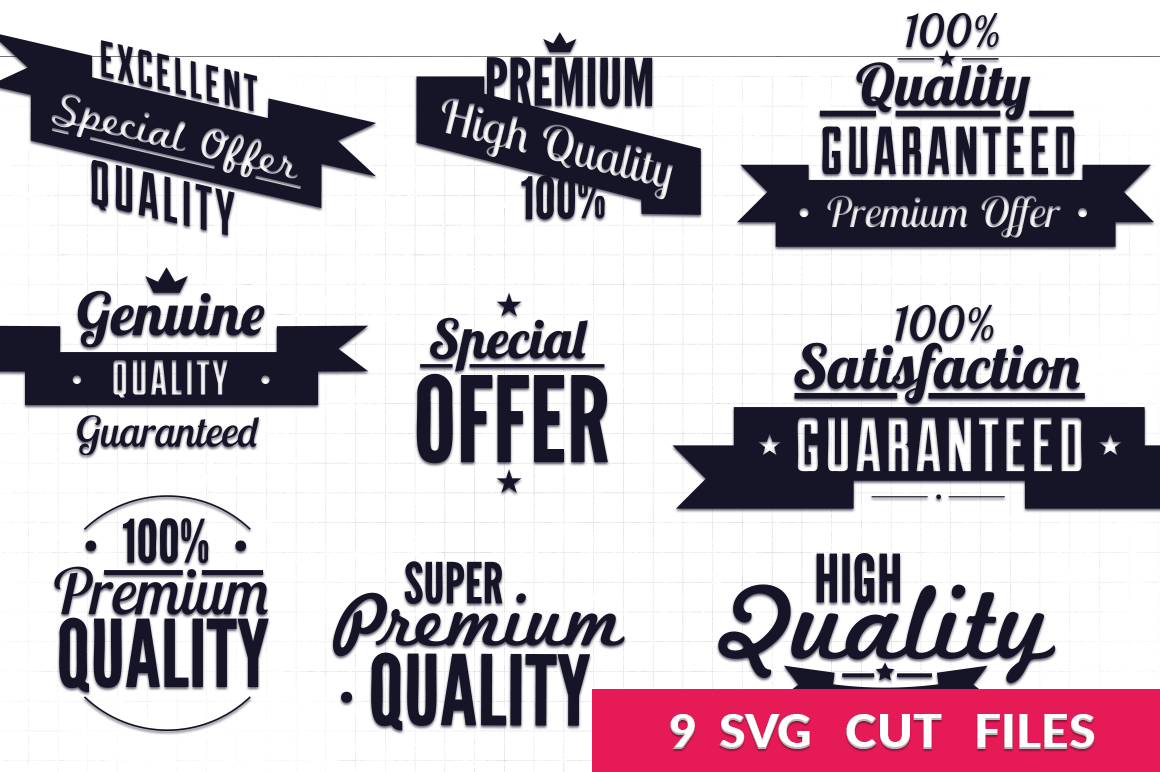 Retro Typography Svg Pack By Craft N Cuts Thehungryjpeg Com