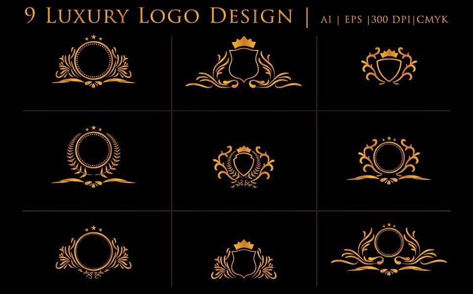 Luxury Cool Logos Design Template By Graphics Ninja ...
