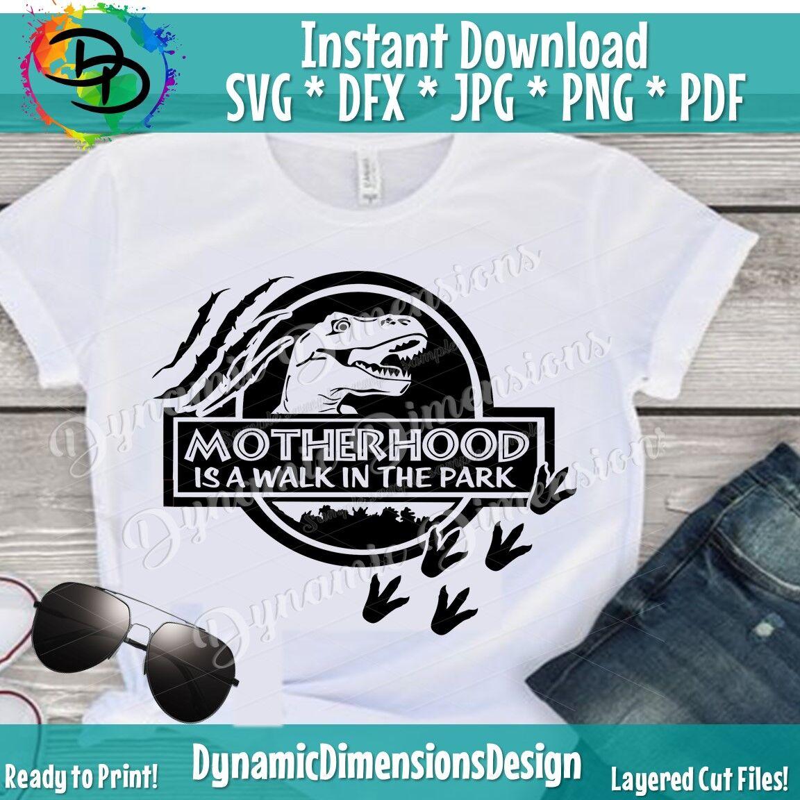 Motherhood Mom Dinosaur Svg Mom Svg Mom Life Svg Mom Shirt