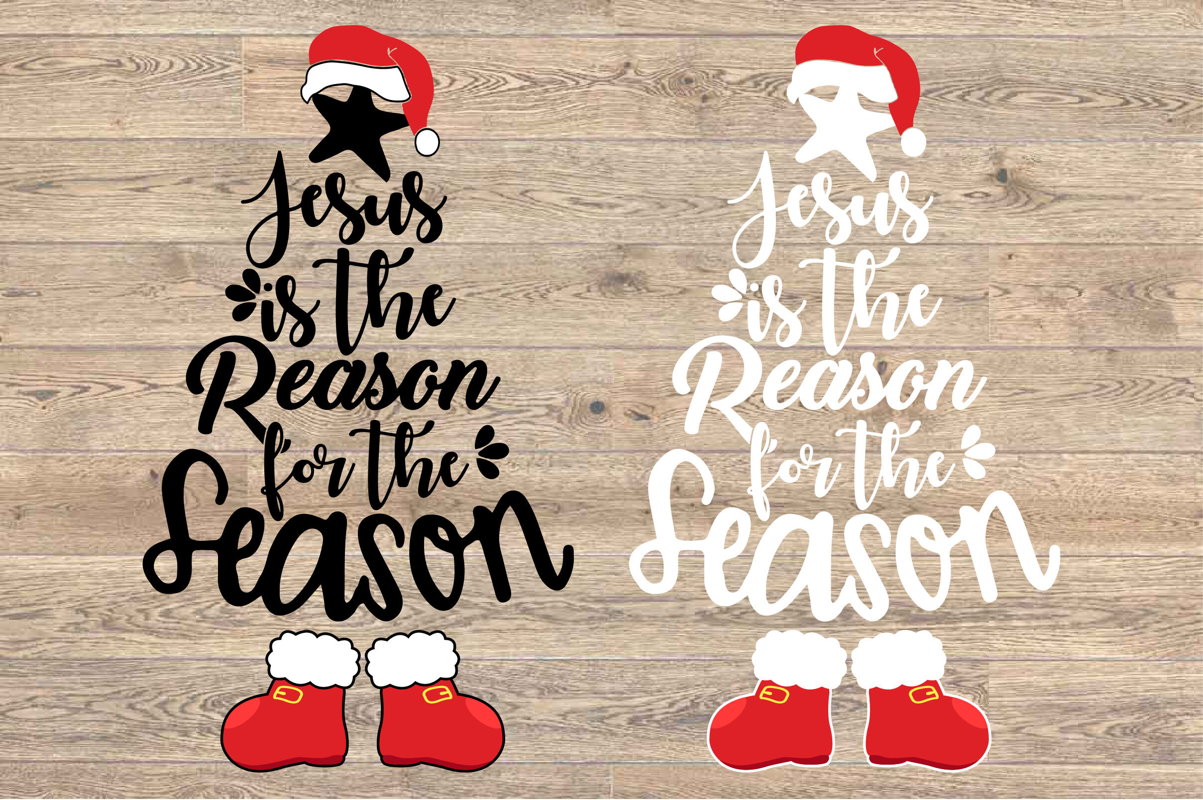 Christmas Tree Svg Jesus Is The Reason For The Season 1582s By