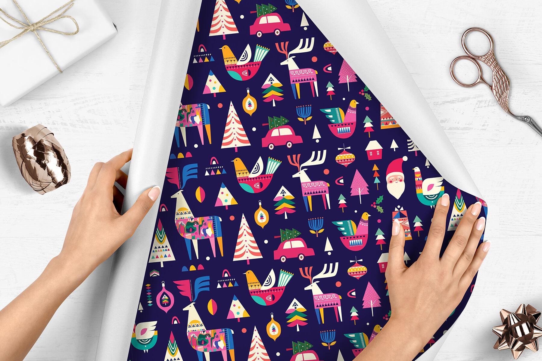 Christmas Collection By Molesko Studio Thehungryjpeg Com