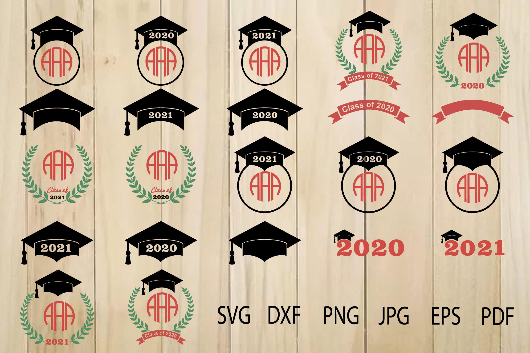 Graduation Cap Frame 17 By Julydigitalimages Thehungryjpeg Com