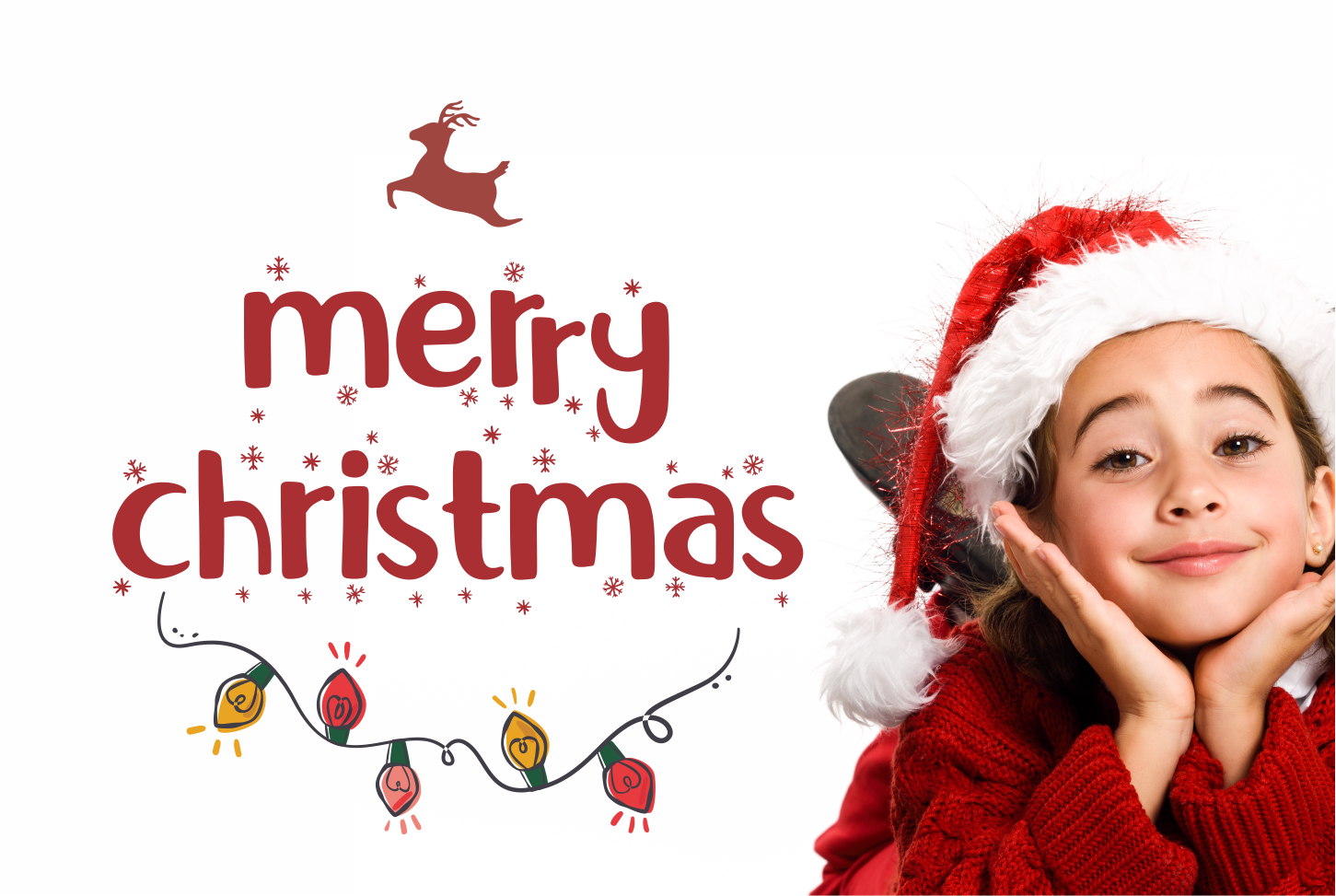 Little Santa Font Merry Christmas Font By Mukhtype