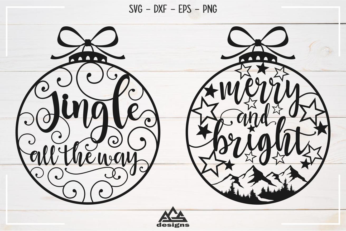 Christmas Quote Light Bulb Svg Design By Agsdesign Thehungryjpeg Com