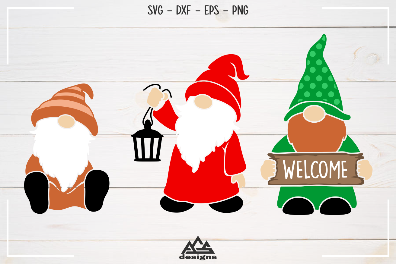 Gnome Packs Ii Svg Design By Agsdesign Thehungryjpeg Com