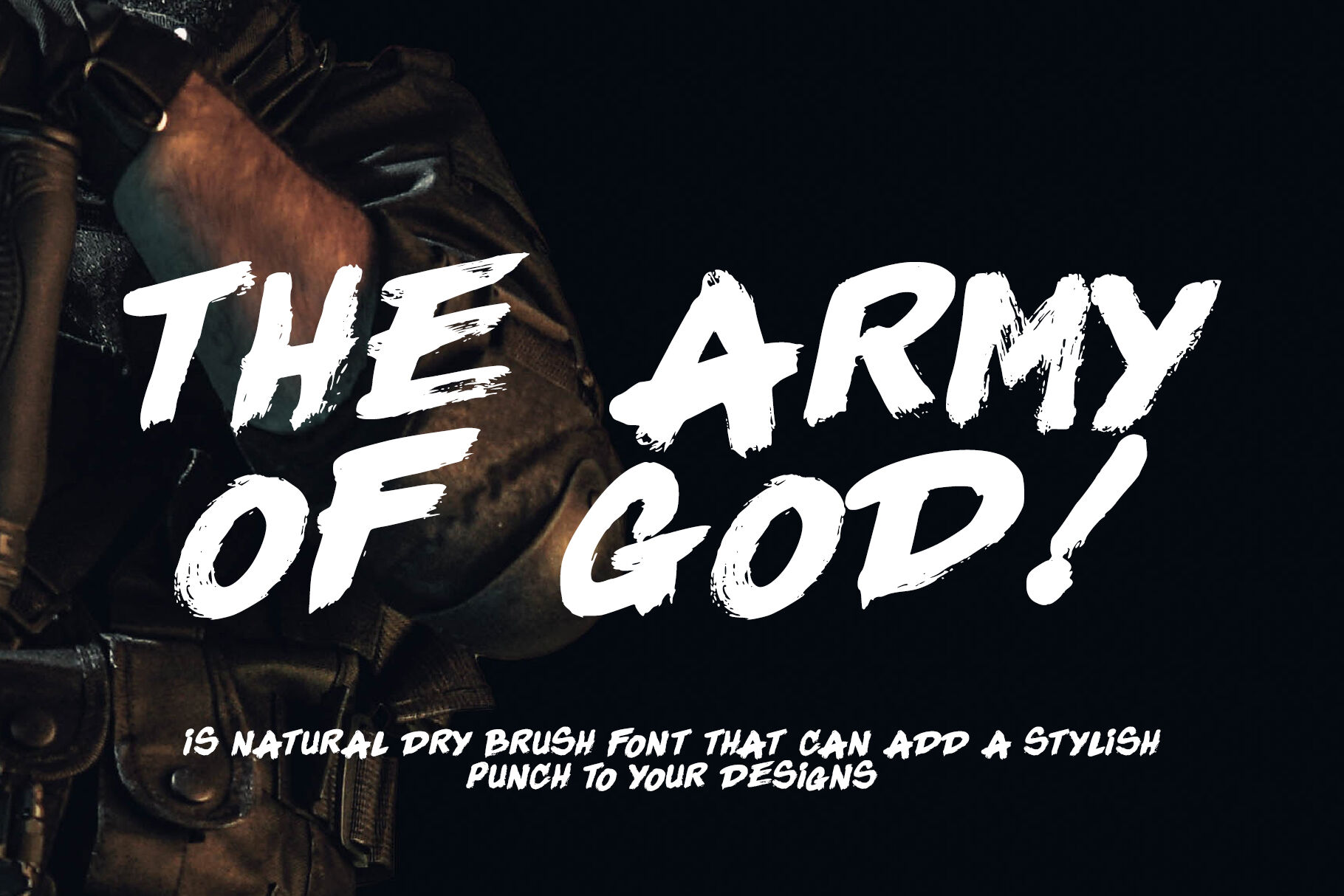 The Army Of God By Letterara Thehungryjpeg Com