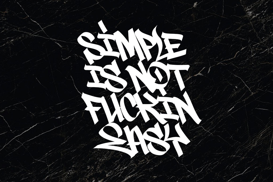 Graffiti Font Street Tag Vol2 By tomatstudio TheHungryJPEG com