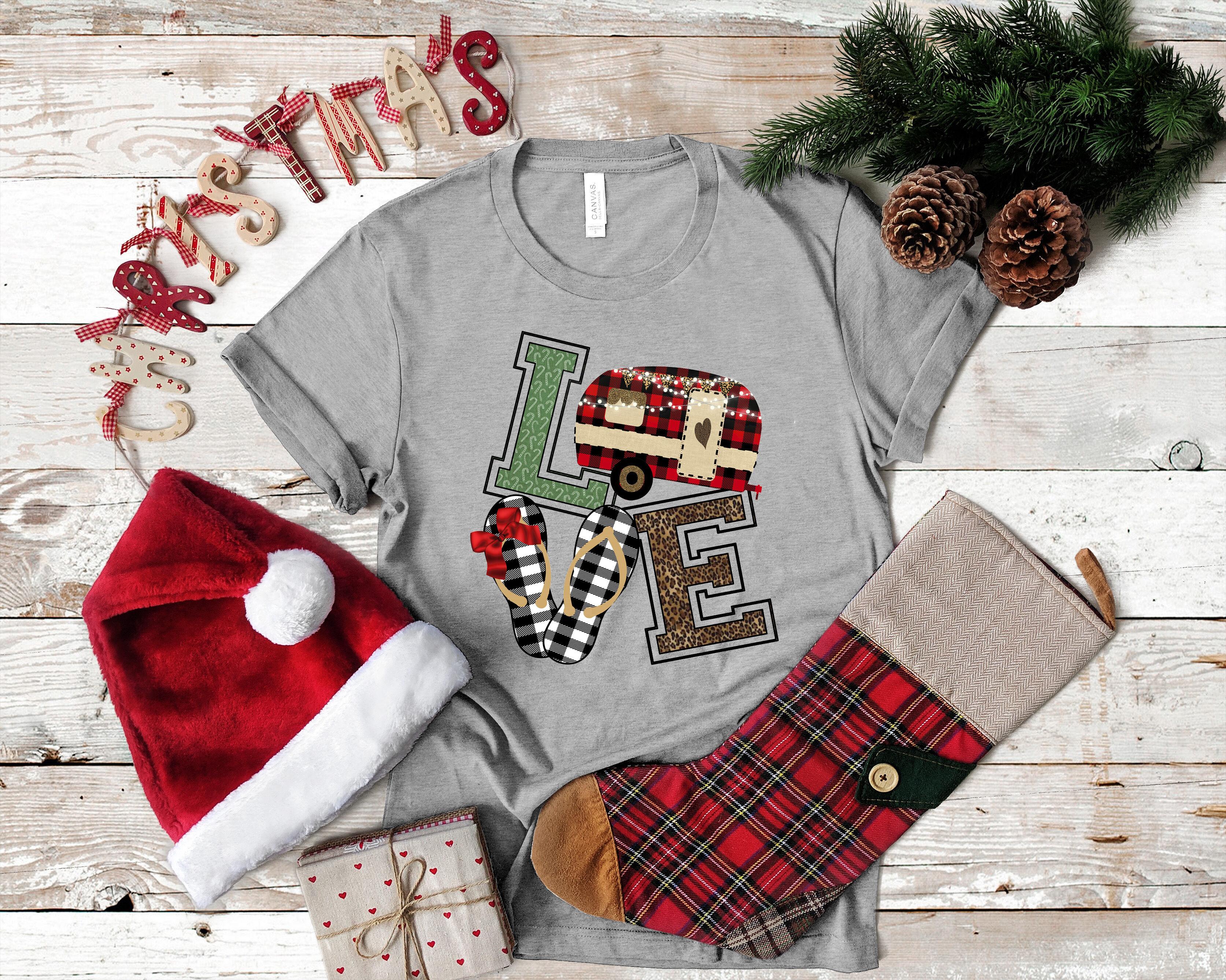 Christmas Camper Flip Flop Love Clipart By Mimi Dana S Crafty