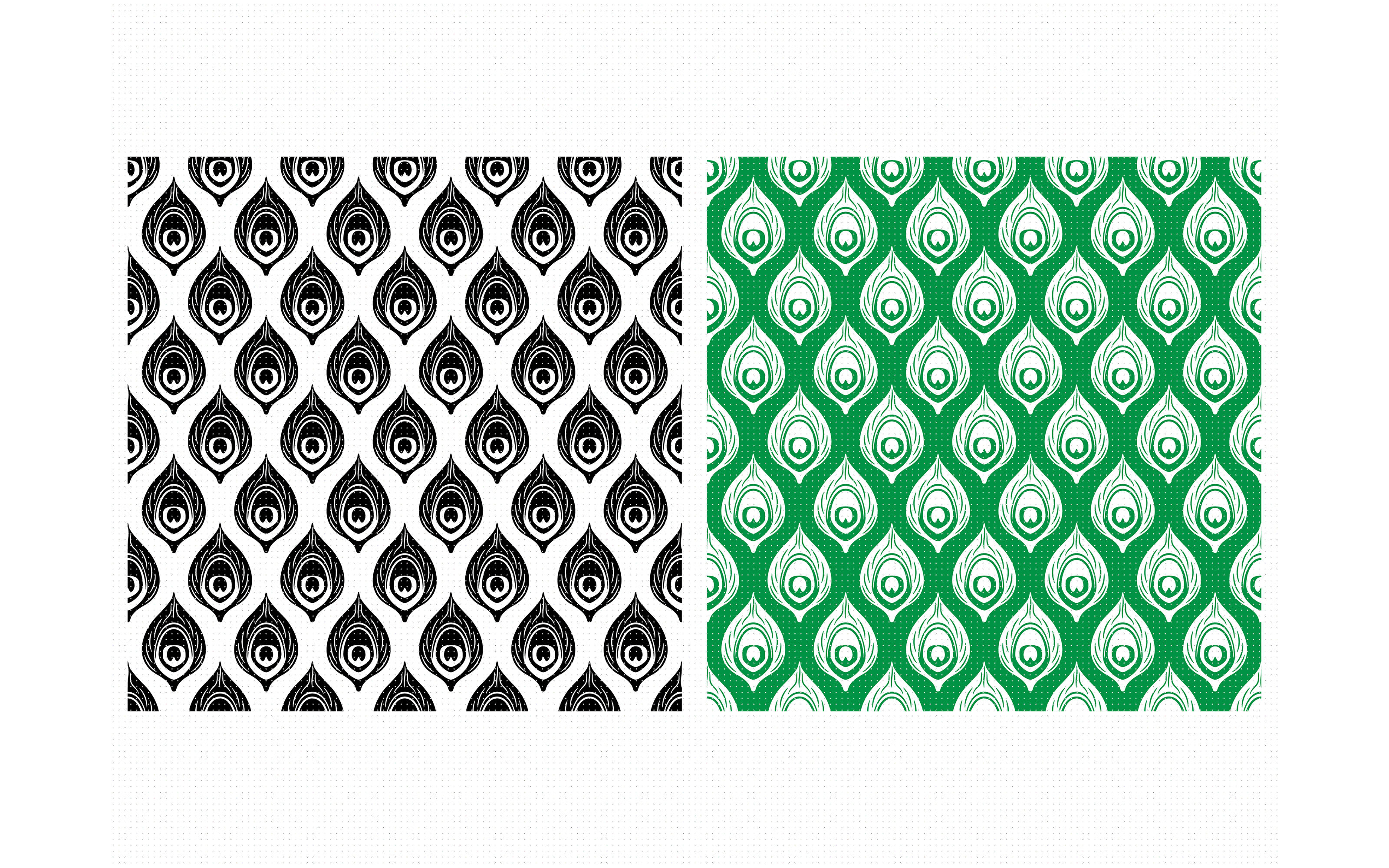 Peacock Feather Animal Print Pattern Svg Dxf Vector Eps Clipart By Crafteroks Thehungryjpeg Com