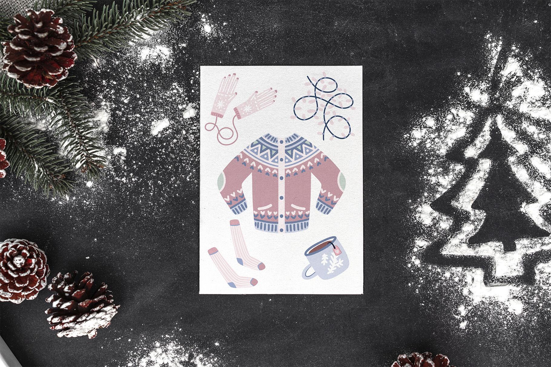 Cozy Christmas By Alina Sh Thehungryjpeg Com