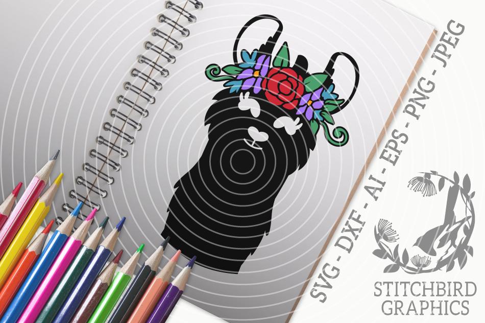 Llama 1 Svg Silhouette Studio Cricut Eps Dxf Ai Png Jpeg By