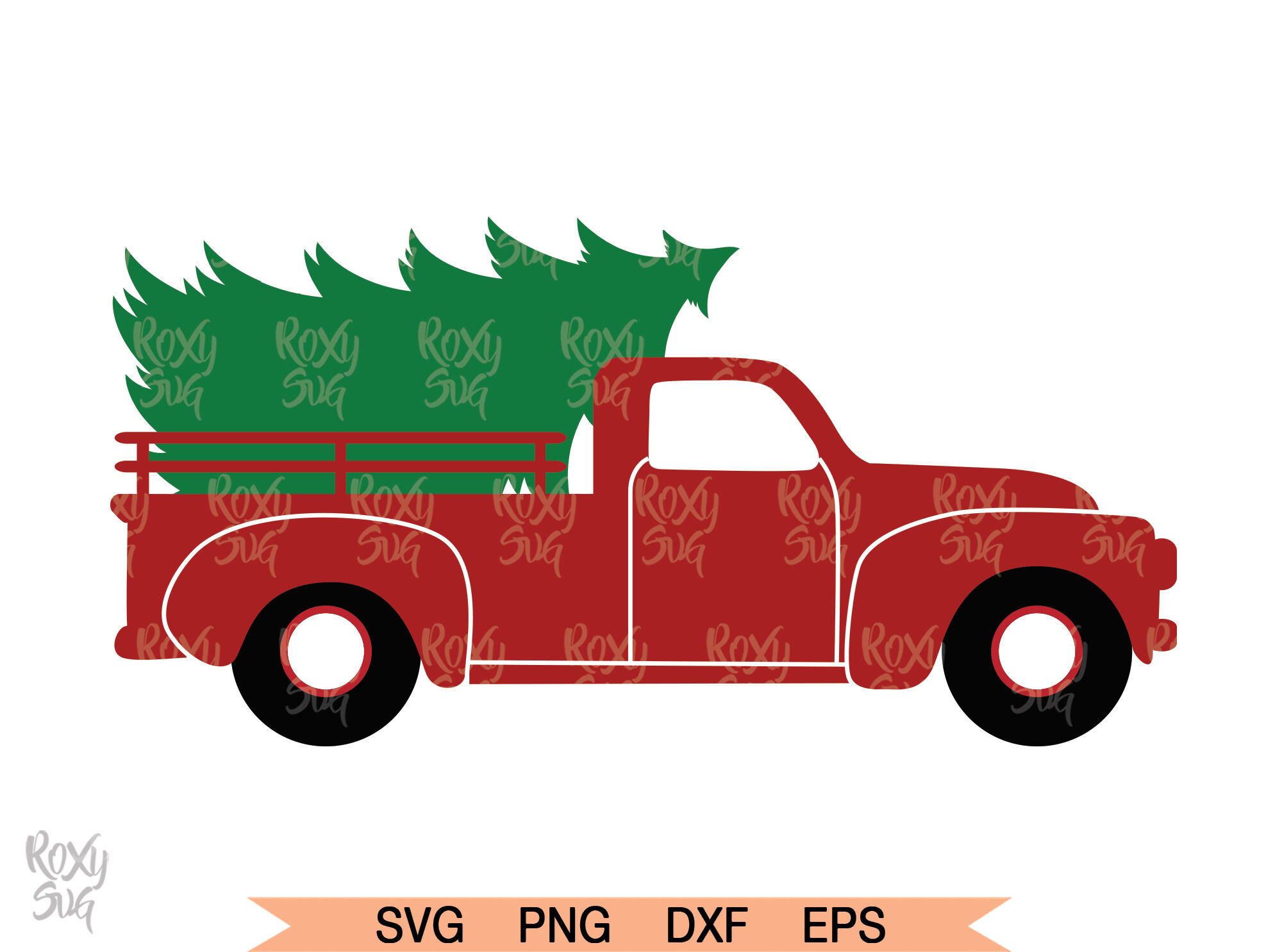 Christmas Tree Truck Christmas Clipart Christmas By Lovely