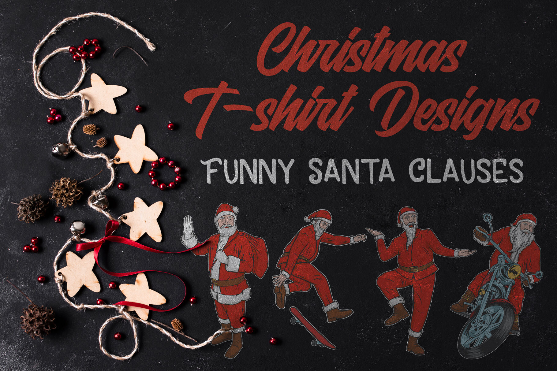 Christmas T Shirt Designs By Vozzy Vintage Fonts And Graphics