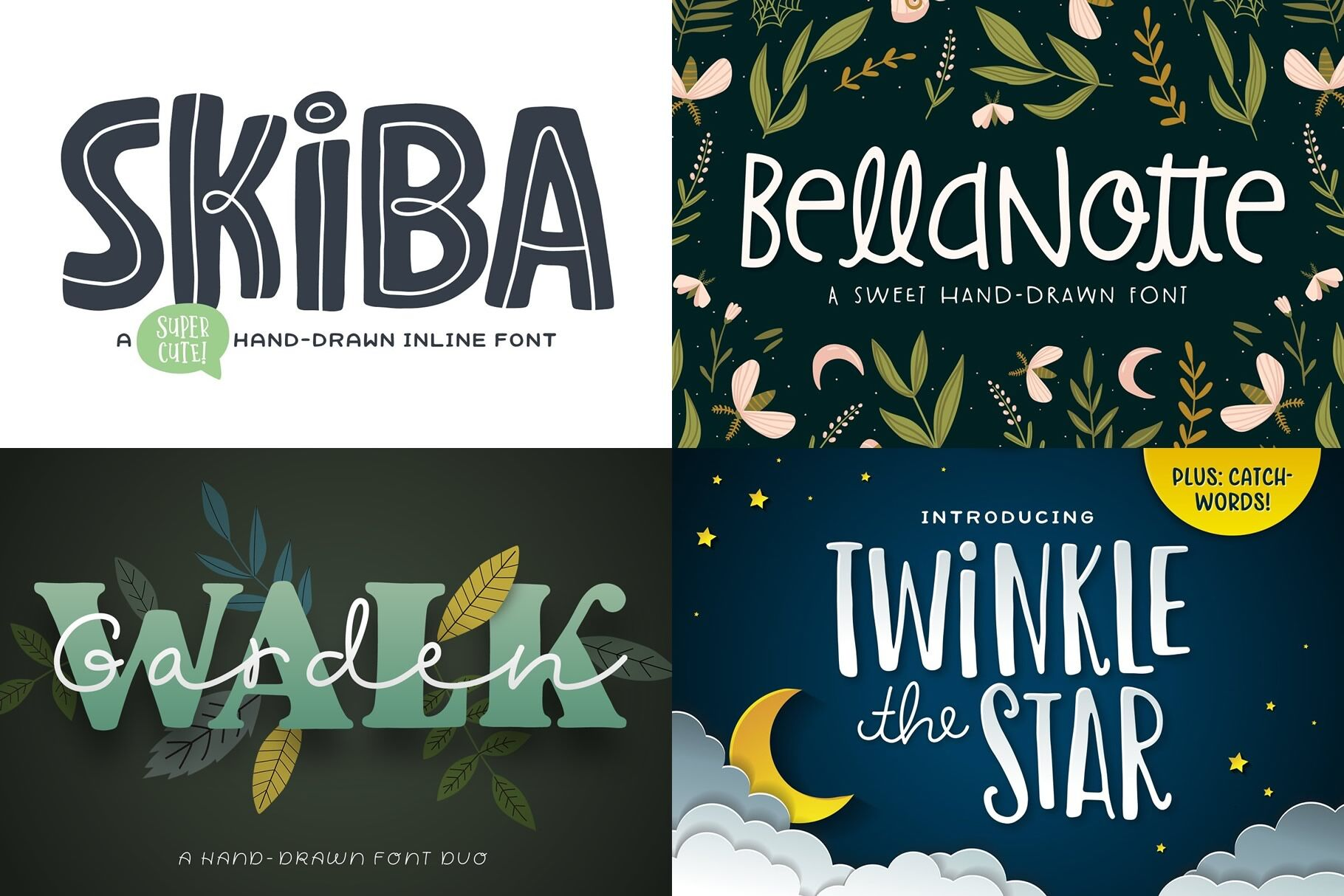 The Utterly Delightful Font Pack By Denise Chandler