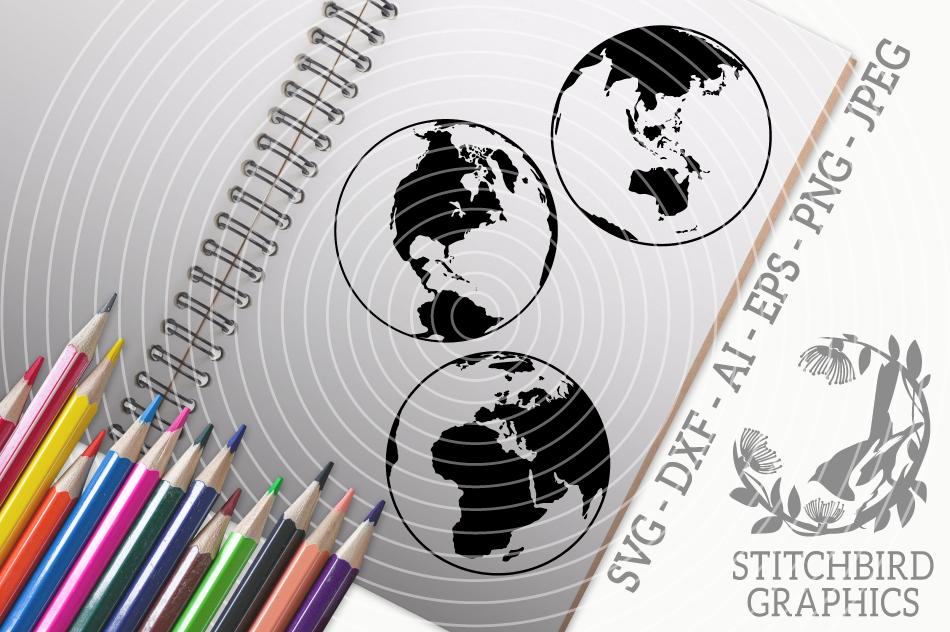 Earth Bundle Svg Silhouette Studio Cricut Eps Jpeg Png By