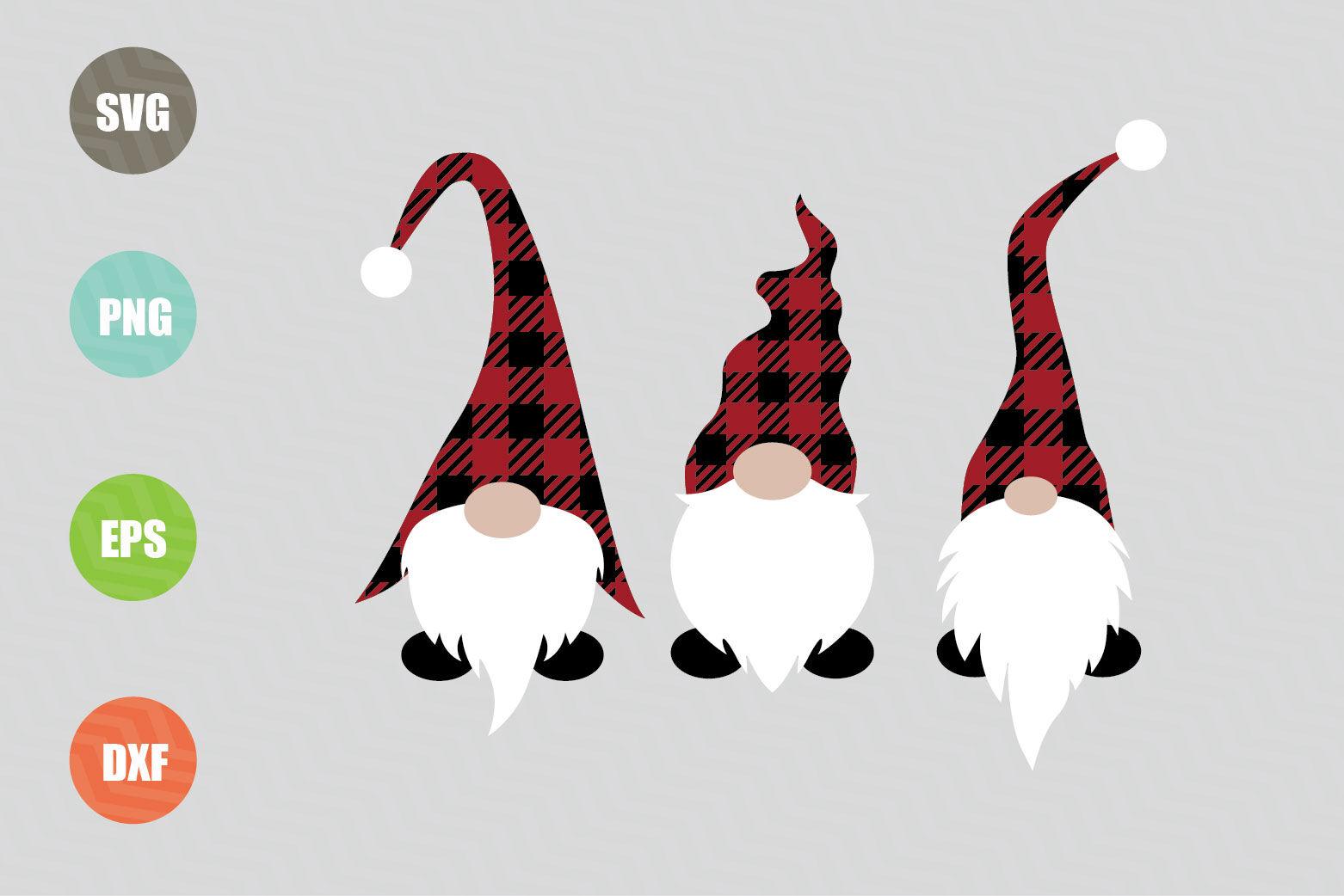 Christmas Gnomes Svg Design By Newsvgart Thehungryjpeg Com