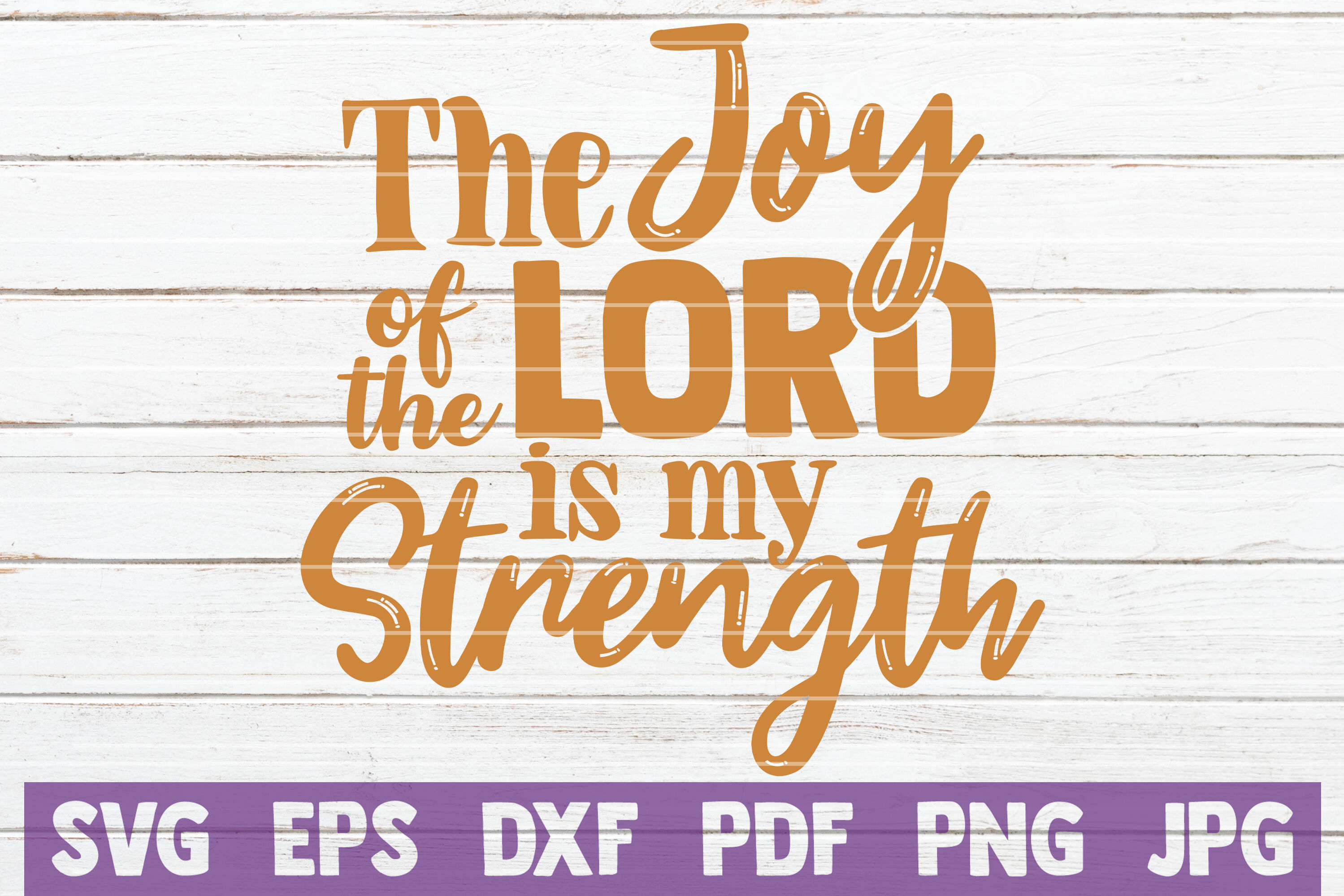The Joy Of The Lord Is My Strength By Mintymarshmallows