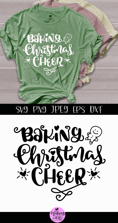 Baking Christmas Cheer Svg Christmas Svg Shirt By Midmagart