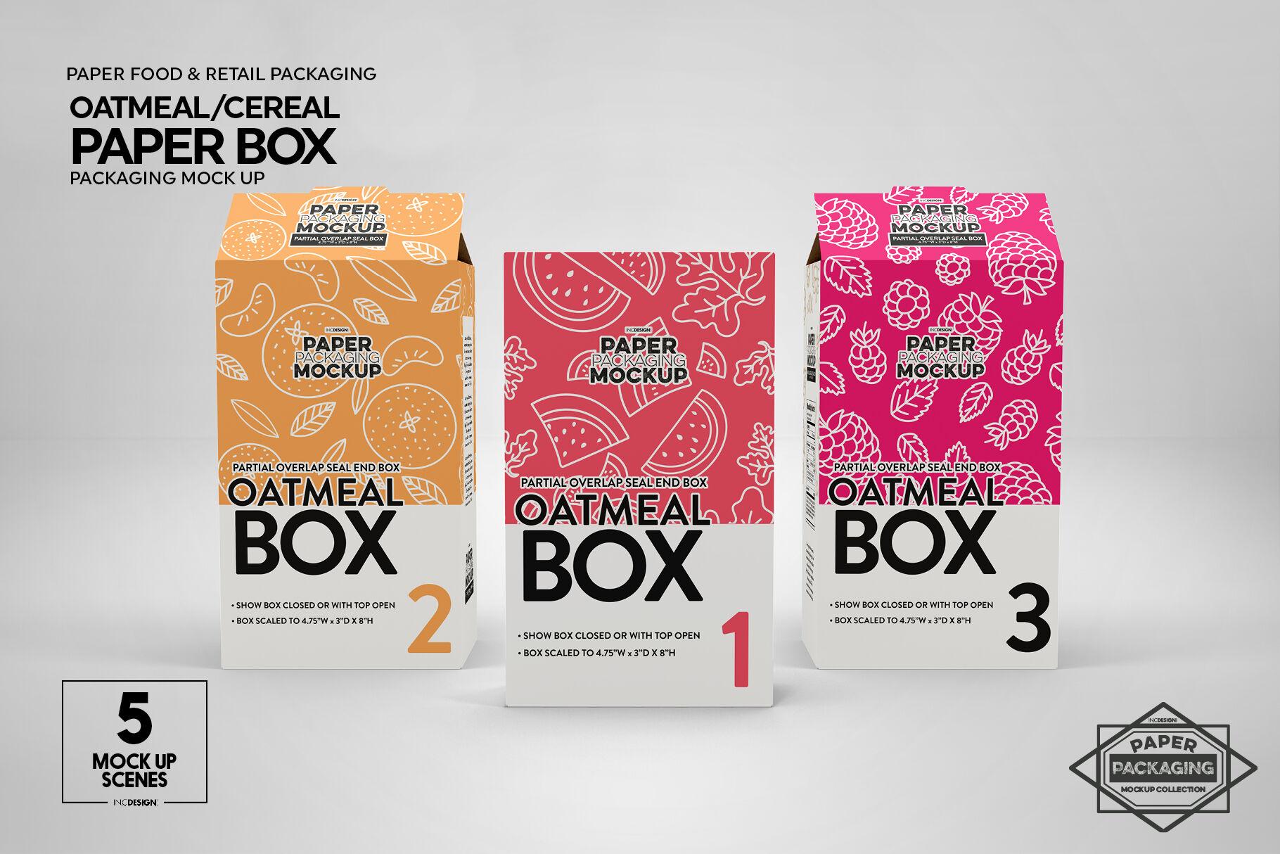Gift Box Mockup Psd Free
