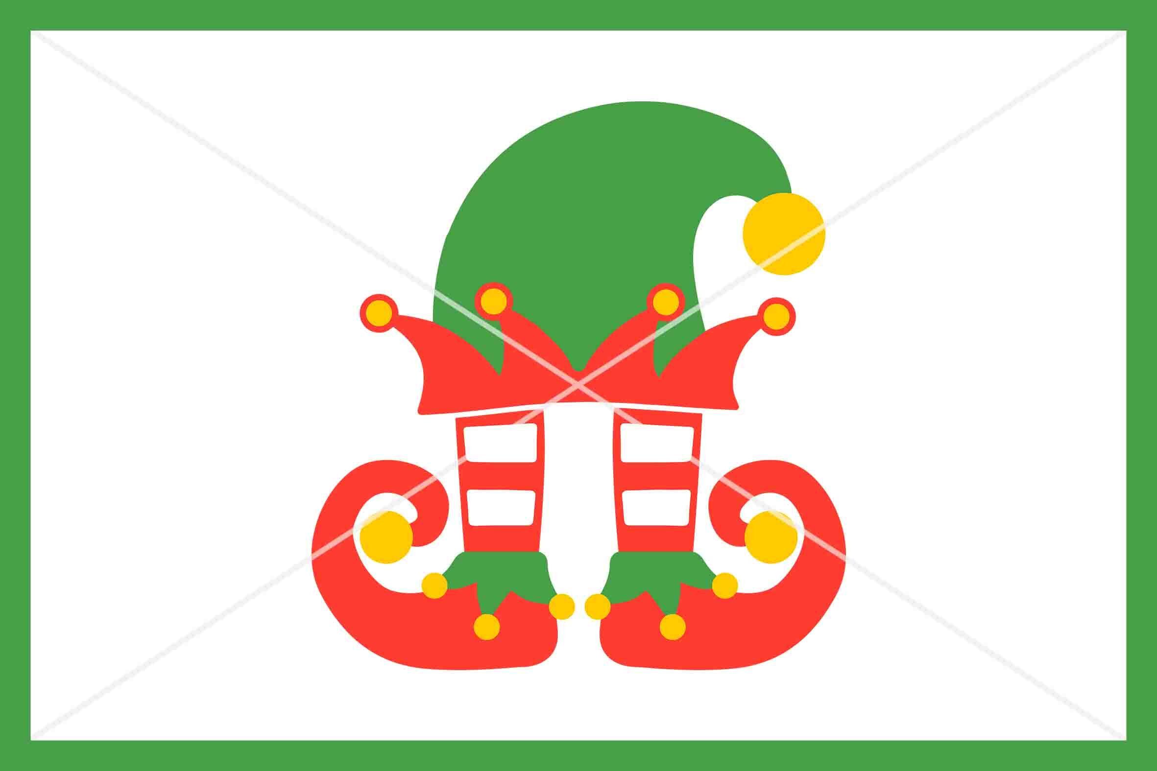 Christmas Elf Svg Christmas Svg Instant Download Cut File