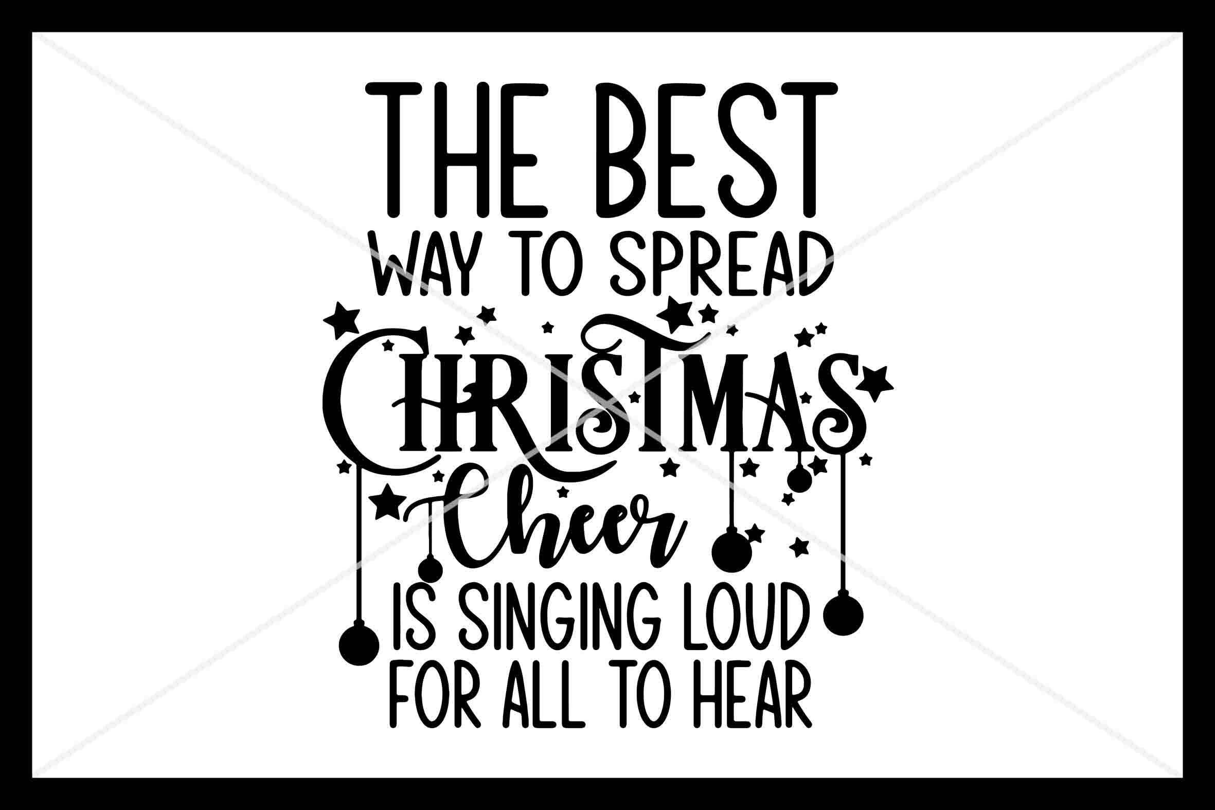 Christmas Cheer Svg Instant Download Cut File Cricut By Design
