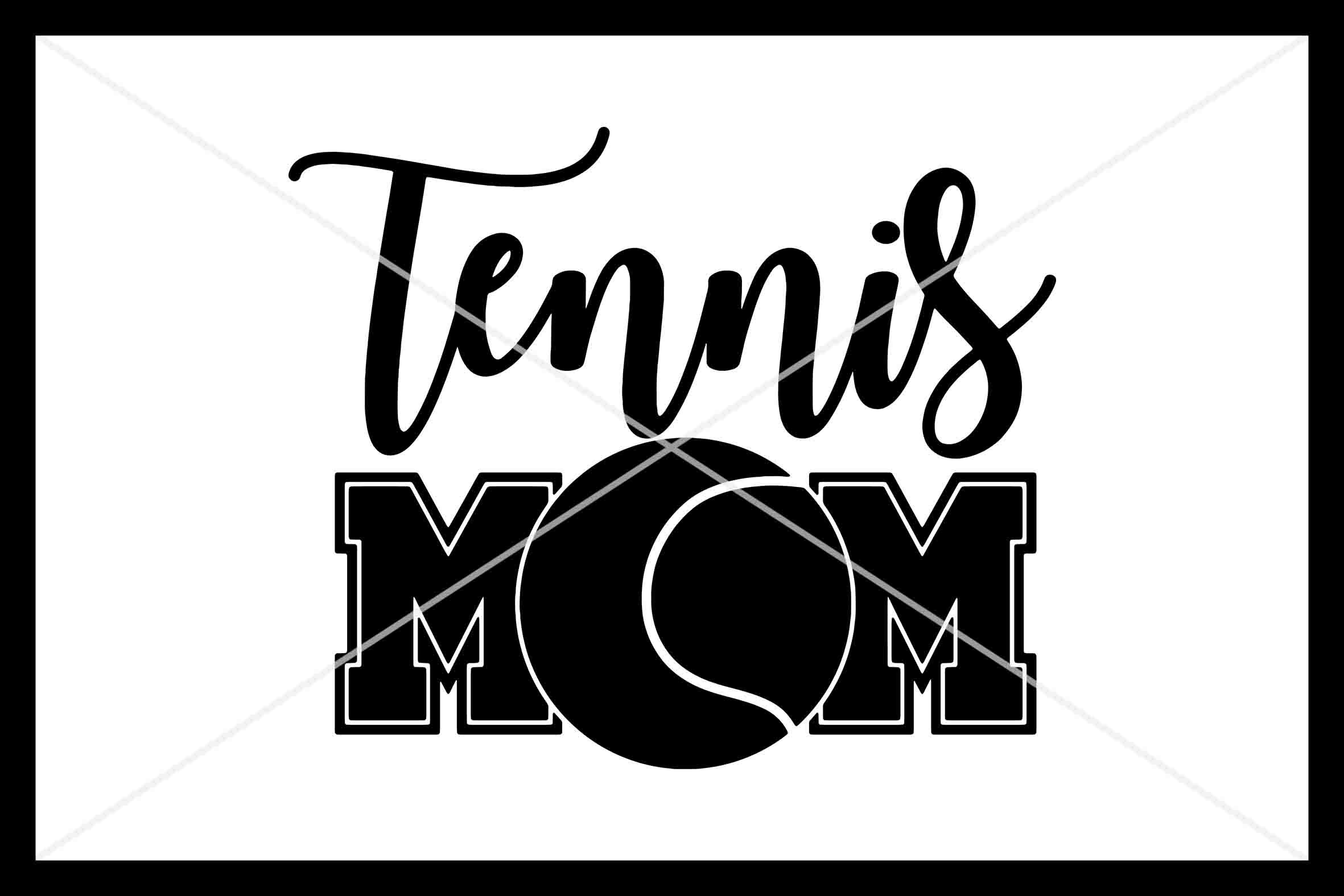Tennis Mom Svg Instant Download Cut File By Design Time
