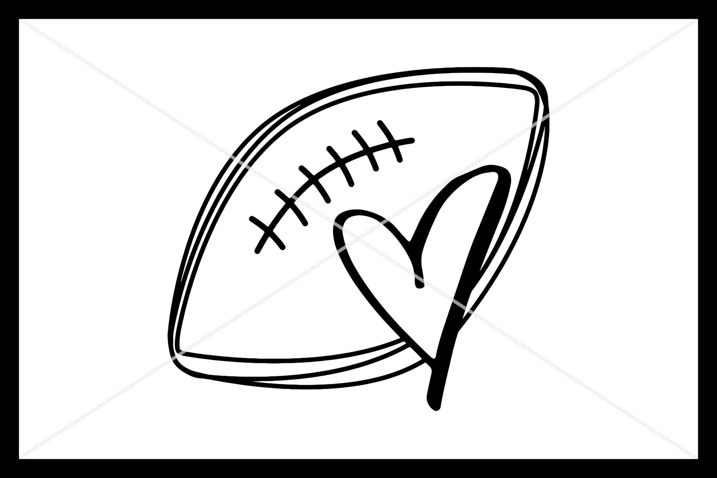 Football Love Svg Instant Download Cut File Cricut By Design