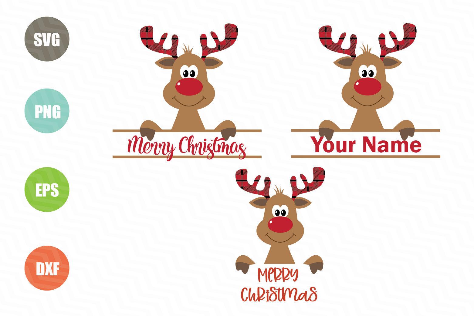 Christmas Reindeer Svg Designs By Newsvgart Thehungryjpeg Com
