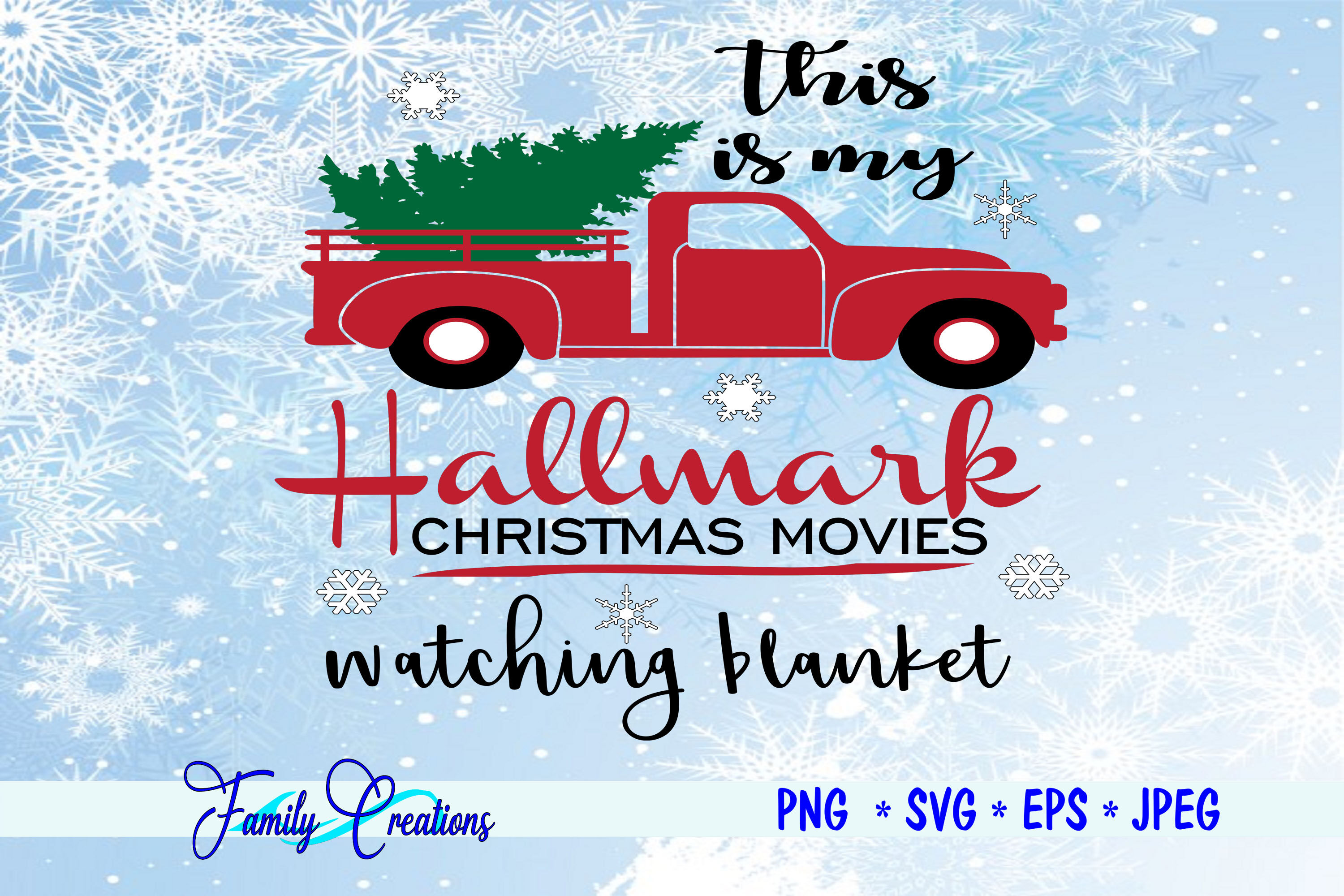 This Is My Hallmark Christmas Movies Blanket By Family Creations