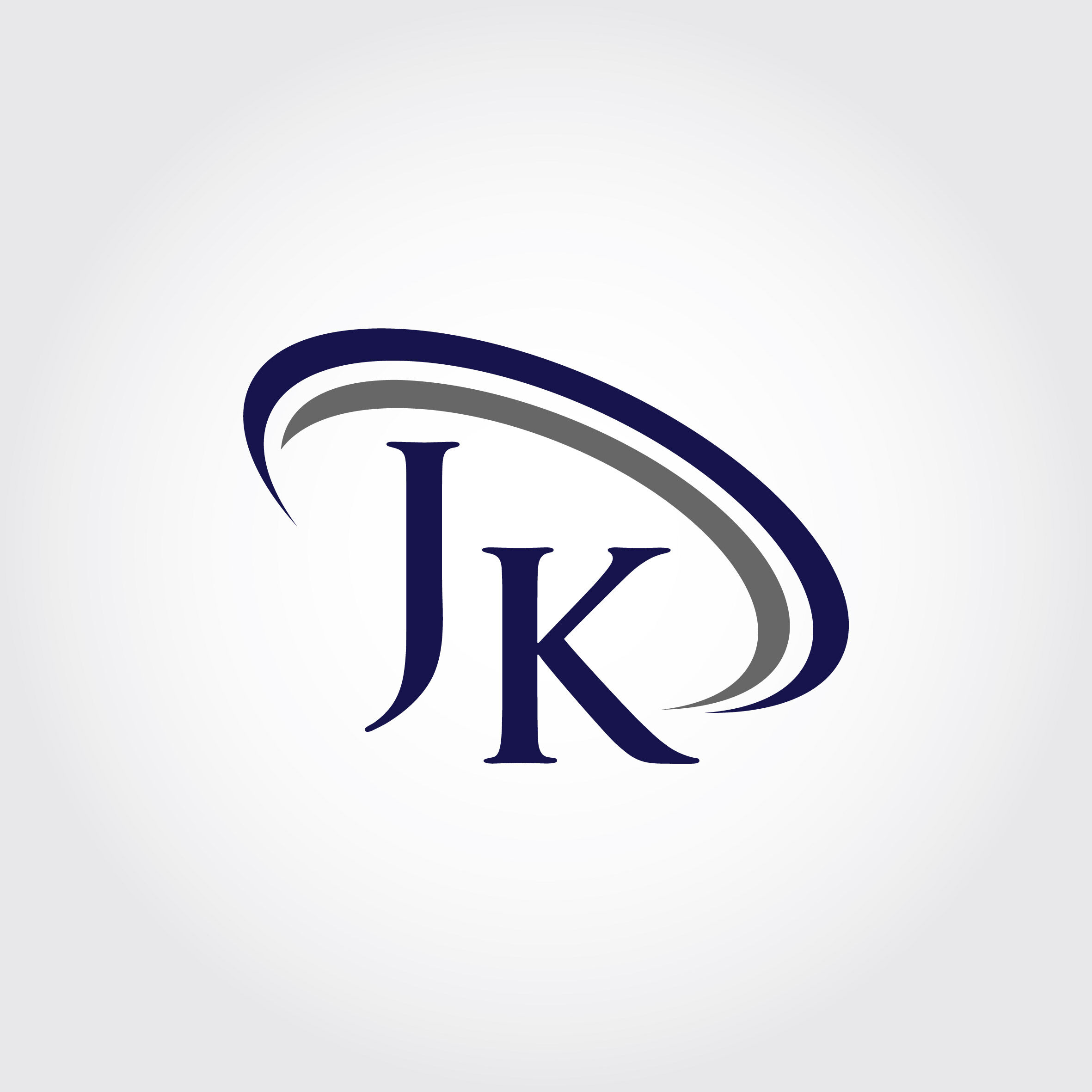 Monogram JK Logo Design By Vectorseller
