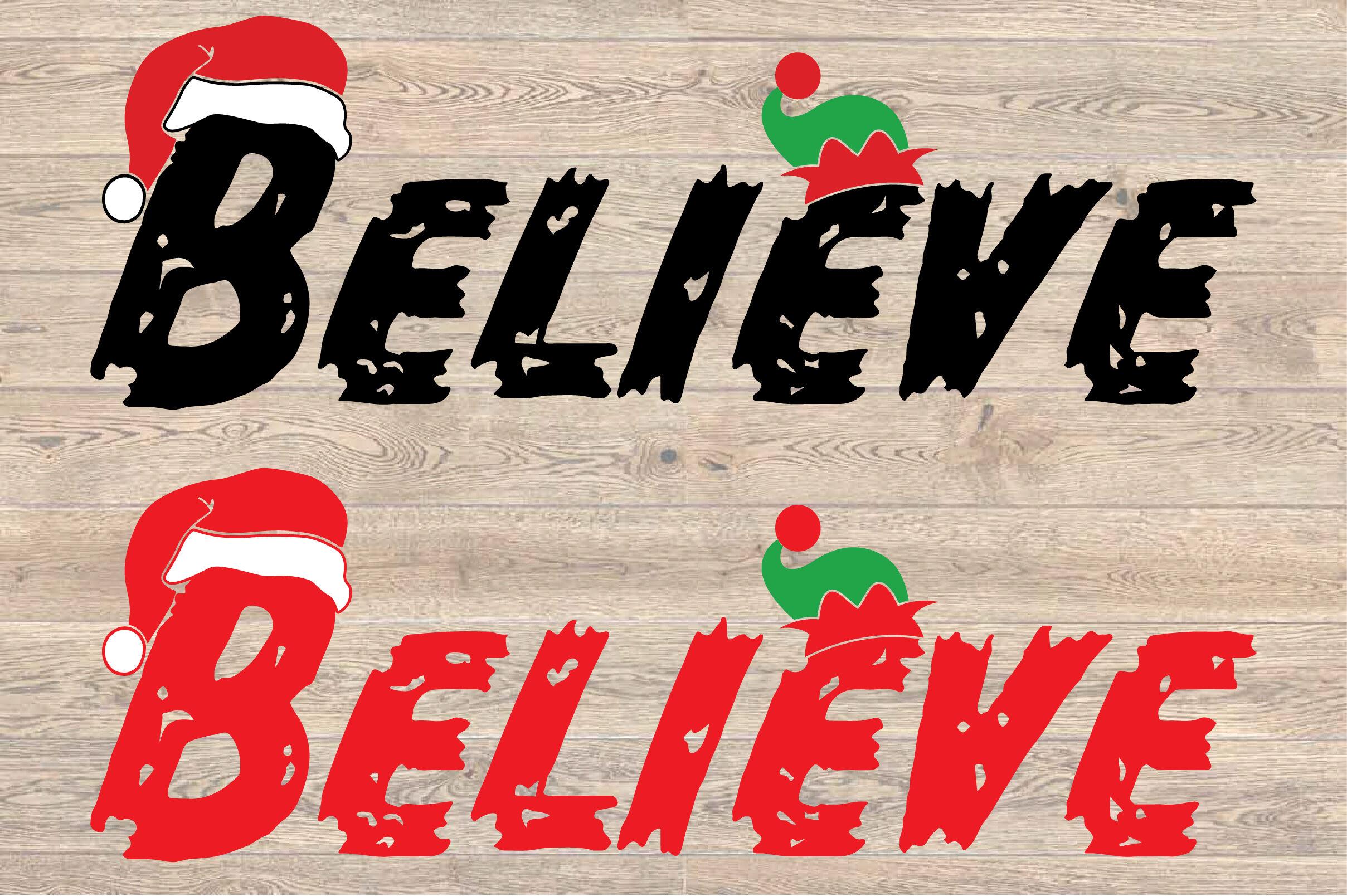 Believe Christmas Svg Santa S Elf Christmas Elf Christmas 1600s By