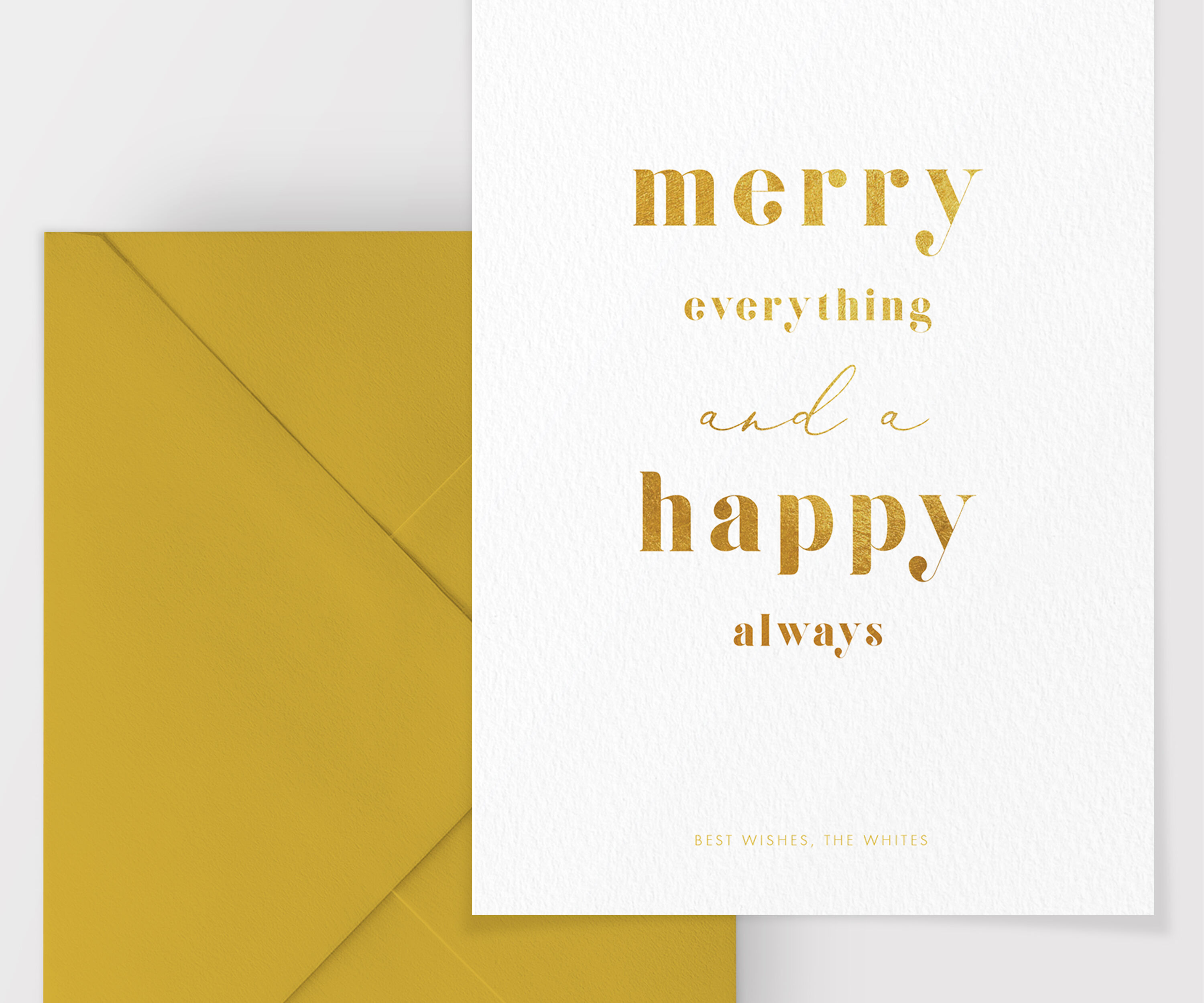 Christmas Card Template Merry Christmas Card Instant Download