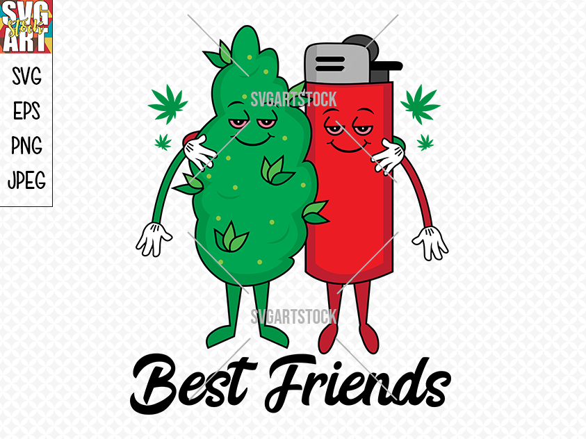 Best Friends By Svg Art Stock Thehungryjpeg Com