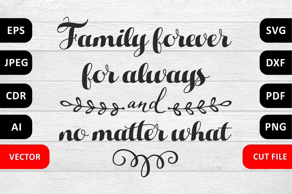 Valentine Love Family Svg Quote Cut File By Zoya Miller Svg