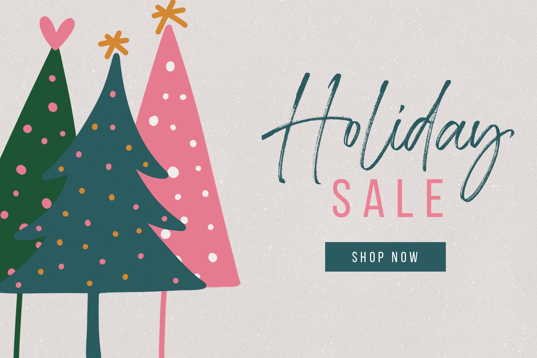 Messy And Modern Christmas Tree Illustrations By Ka Designs