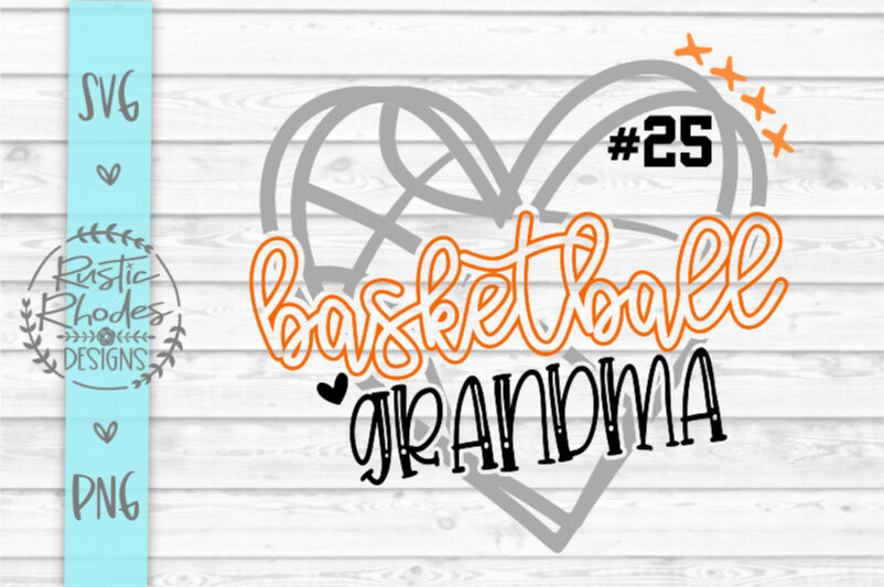 Basketball Grandma S Included Svg Png Digital Cut File By