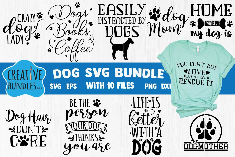 Dog Svg Bundle Dog Mom Svg By Creativespace Thehungryjpeg Com