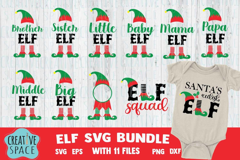Christmas Elf Svg Elf Family Svg Christmas Svg Bundle Mama Elf