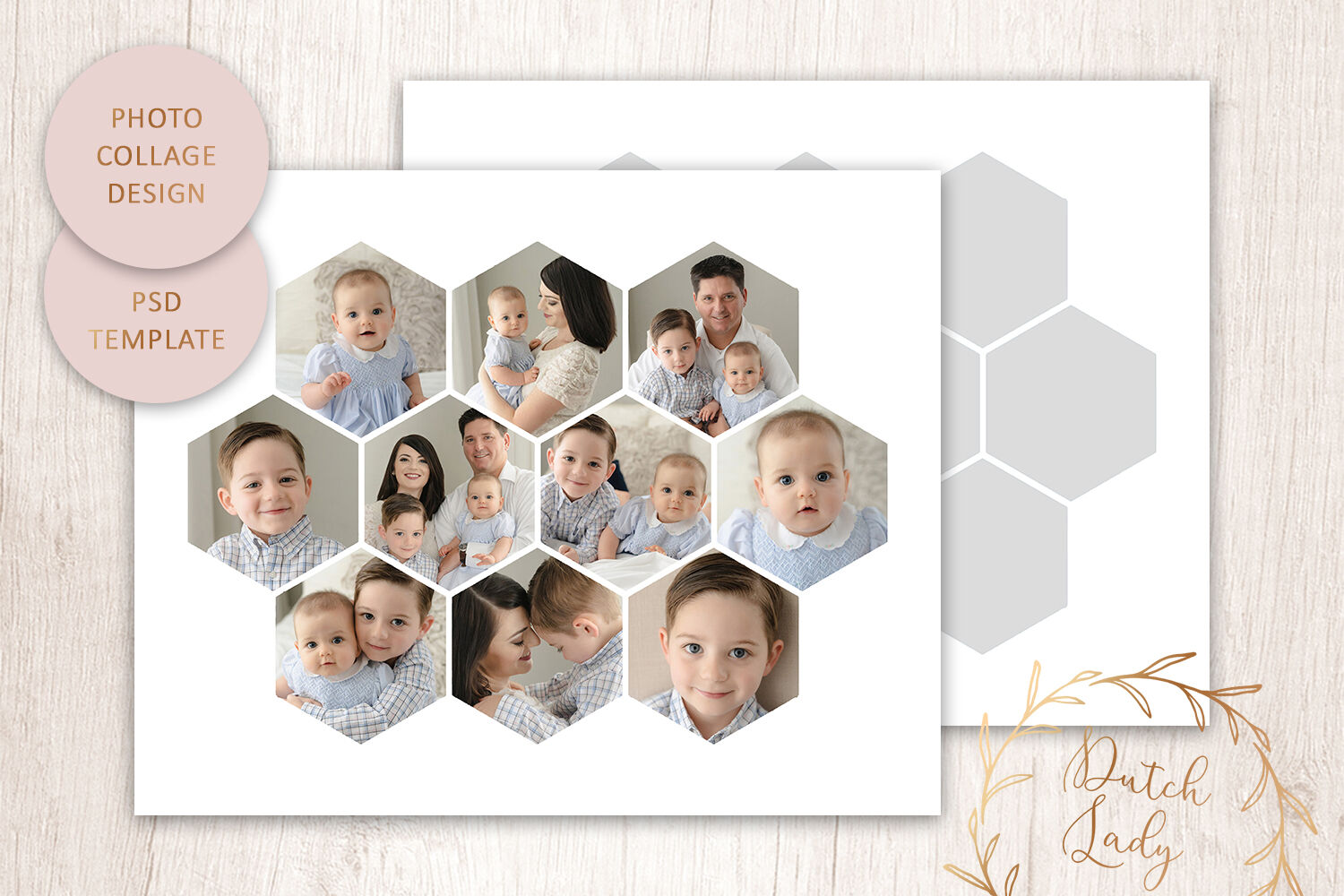 Psd Photo Collage Template 6 By The Dutch Lady Designs