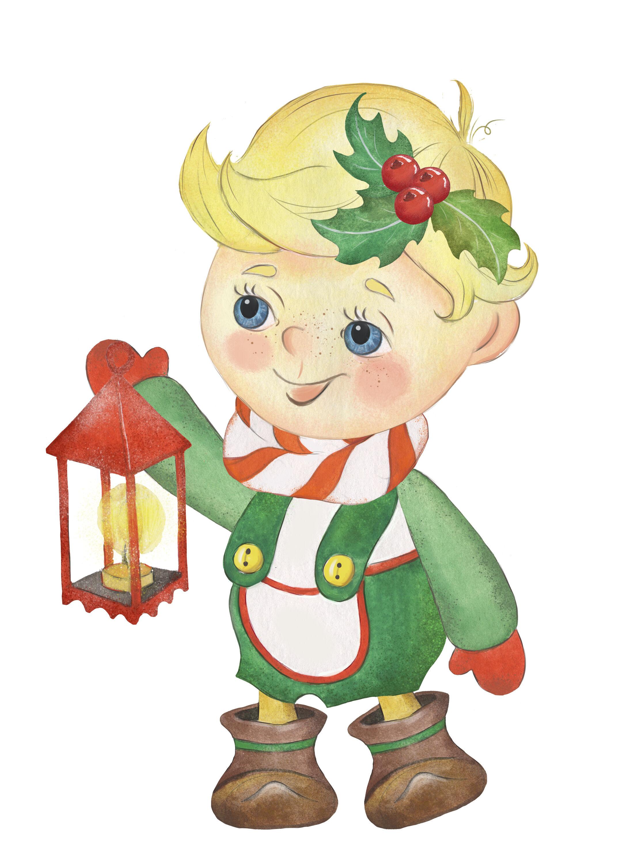 Christmas Kids Clipart Christmas Boy Christmas Girl Elf